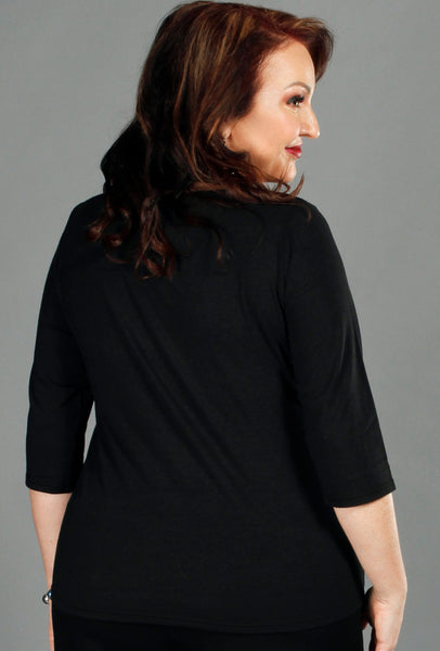 Perfect Top - Black Bamboo