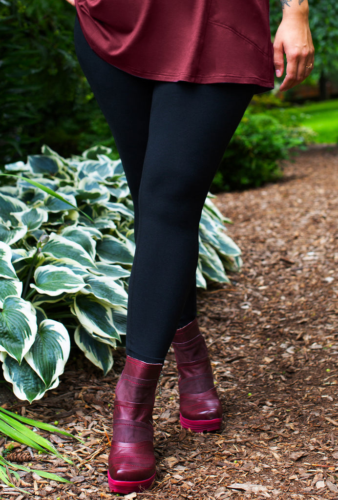 Rejuvenate Legging - Black Bamboo