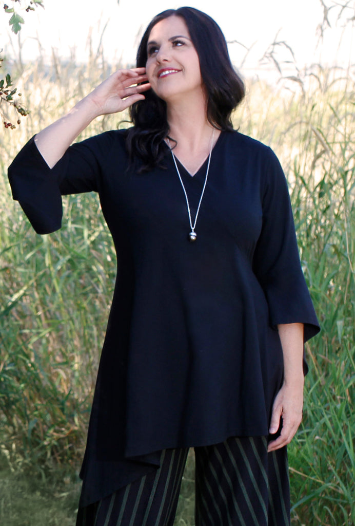 Spellbound Tunic - Black Bamboo