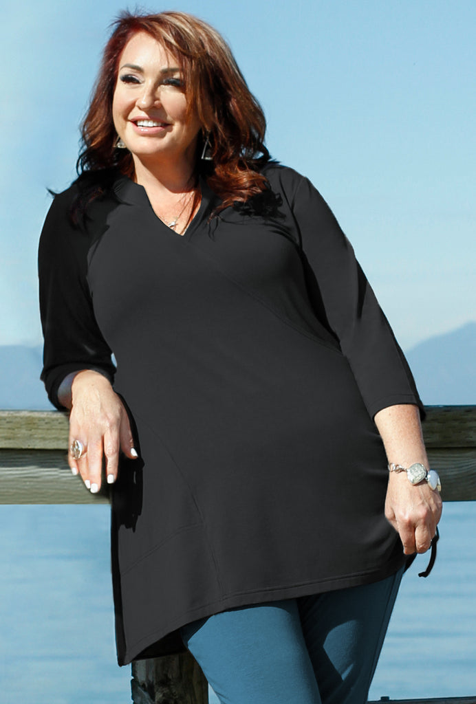 Touring Tunic - Black Bamboo