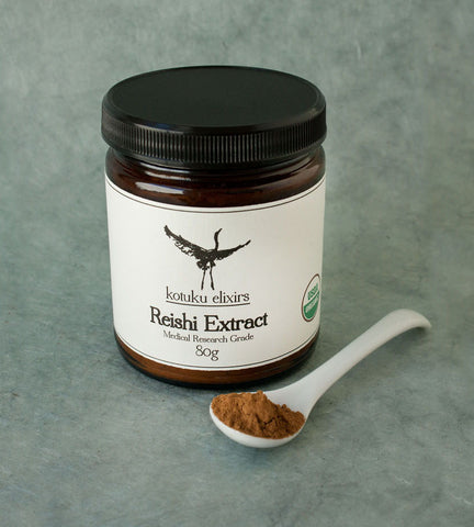 Reishi Extract- (Organic) Medical Research Grade  Kotuku Elixirs