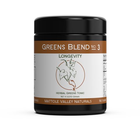 Greens Blend No3 Longevity - Mattole Valley Naturals 113grams