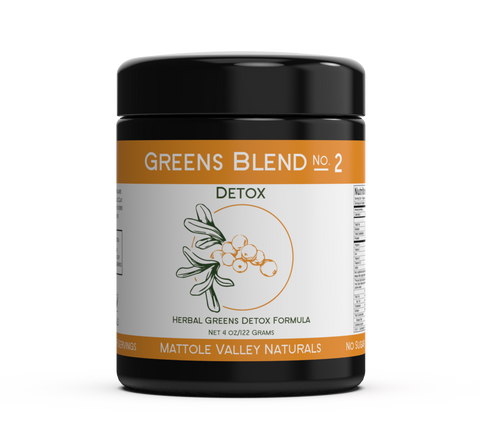 Greens Blend No2 Detox - 122grams