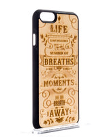 Handcrafted Wood The Meaning Phone case