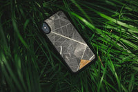 Handcrafted Organika Skeleton Leaves Phone case