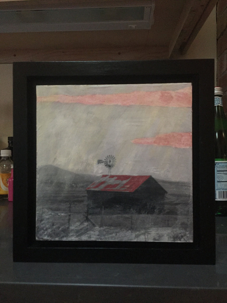 """San Luis Farm""-Framed-SOLD"