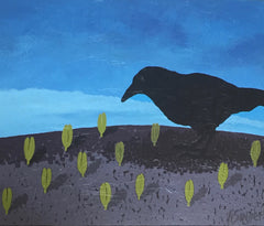 """Crow In The Garden"" Sold"
