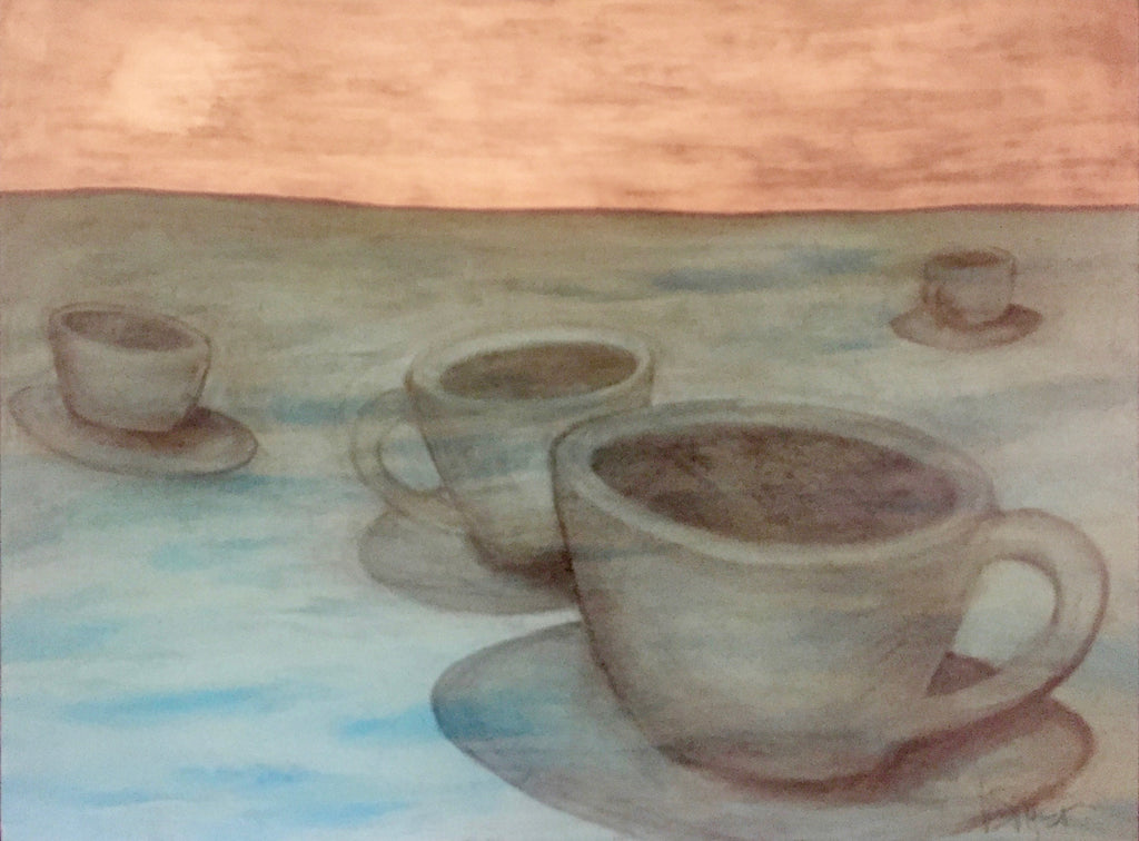Cups At Sea