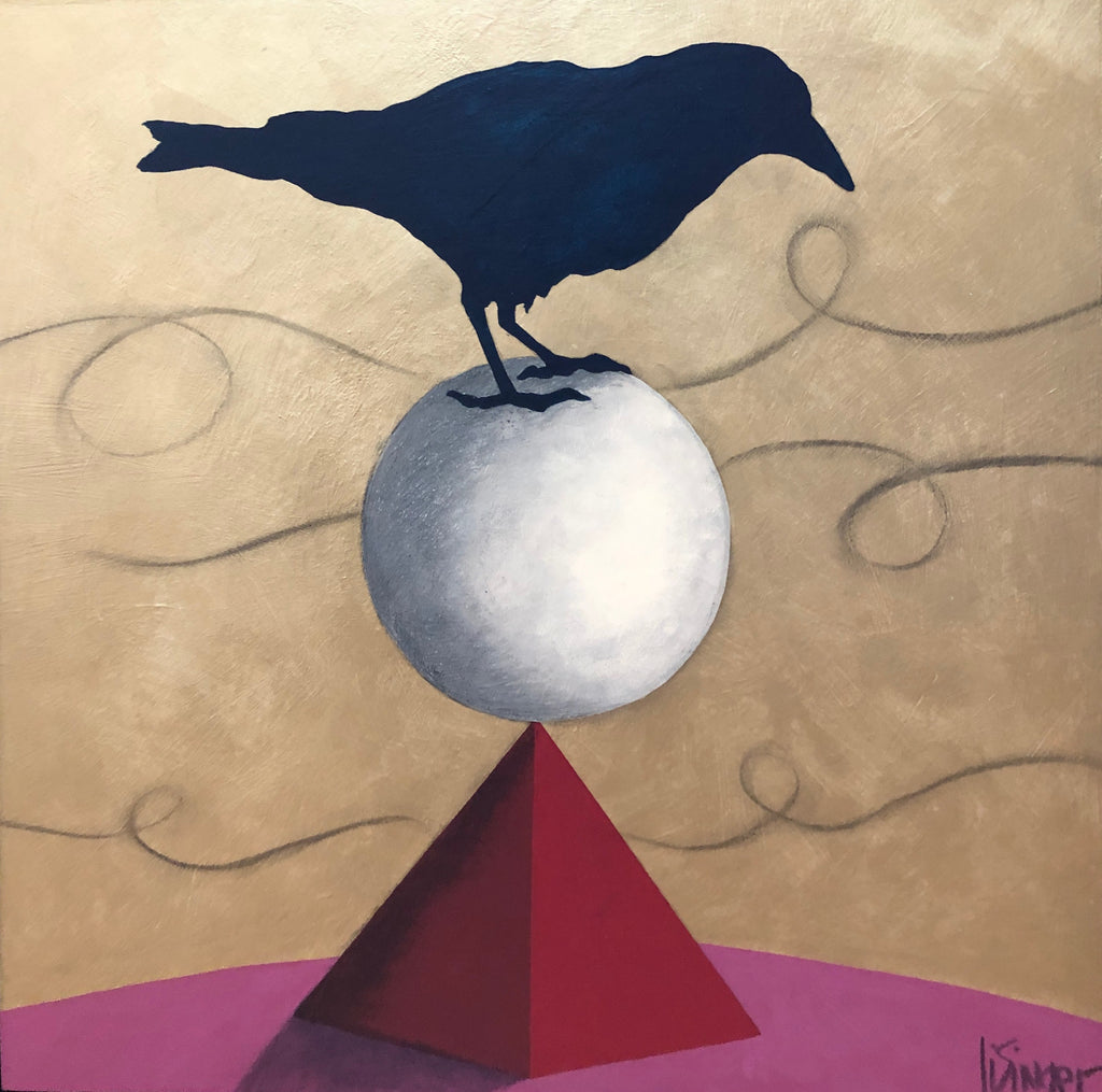"""JUST CROW""  -Sold"