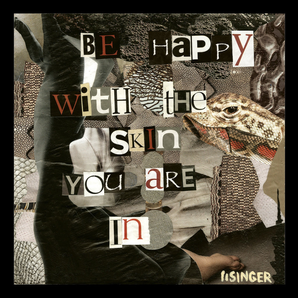 Card 113-be happy with the skin you are in