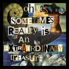 Card 127-oh yes sometimes reality is an extraordinary treasure