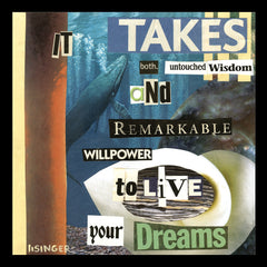 Card 130-it takes both untouched wisdom and remarkable willpower to live your dreams