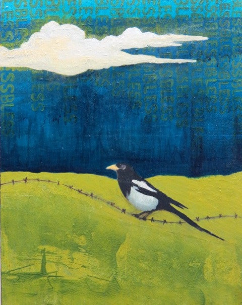 BLESSED MAGPIE