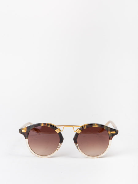 d2f48e92319 Krewe Du Optic St. Louis in blonde tortoise to champagne