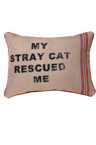 Rescue Cat Pillow