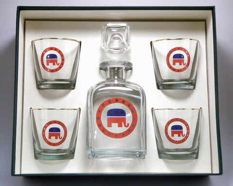 Republican Decanter Set