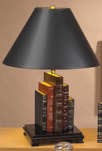 Library Books Lamp