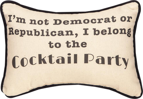 Political Party Pillow