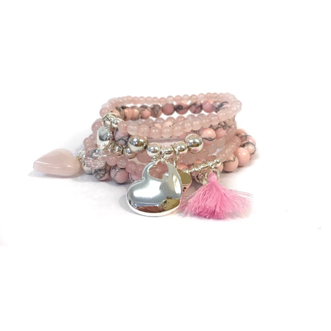 Pale Pink Stack
