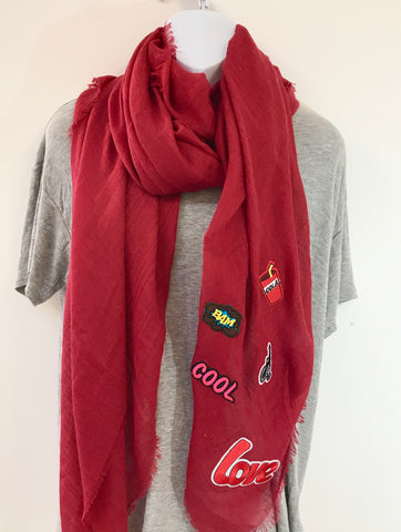 Love Scarf (Red)