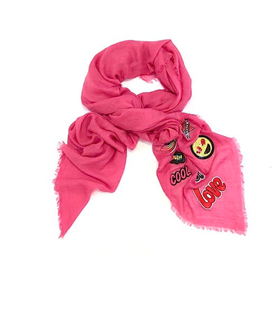 Love Scarf (Pink)