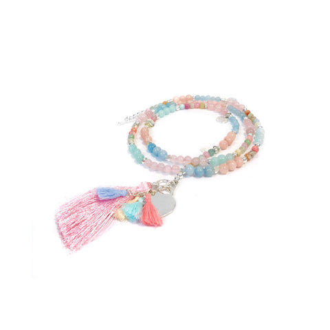 Pastel Tassel Necklace (NEW)