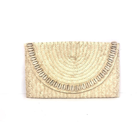 Ibiza Hyacinth Clutch (Natural) ON SALE