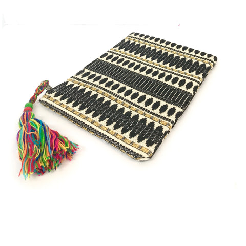 Black and Gold Clutch (ON SALE)