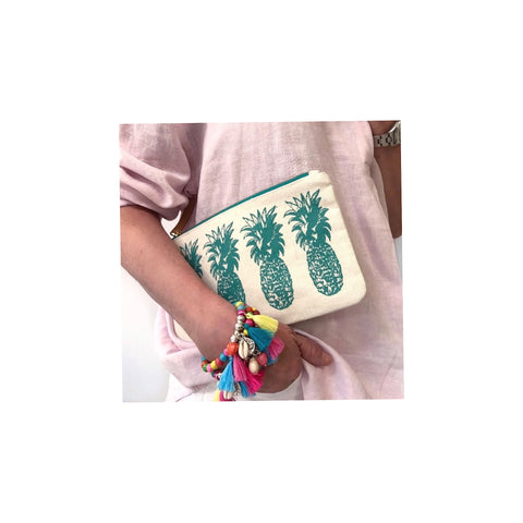 Pineapple Clutch (Green)