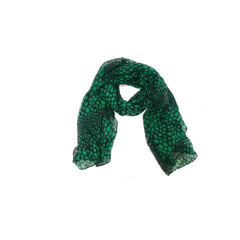 Spotty Emerald Scarf (SOLD OUT)