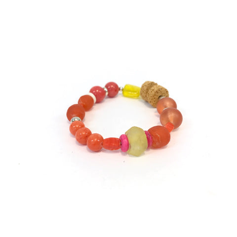 Tribal Bracelet (Orange)