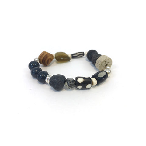 Tribal Bracelet (Black)