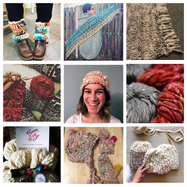 Knit Collage Community Love