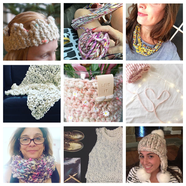 Knit Collage #knitcollage community sharing
