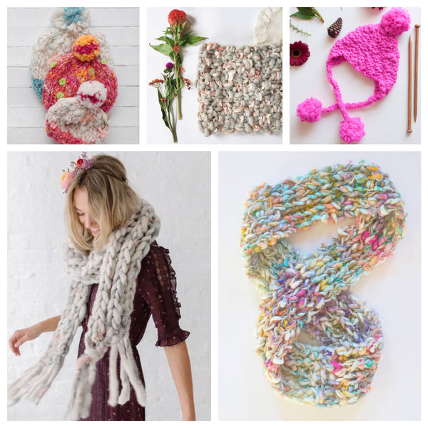 Knit Collage Holiday Knit Guide