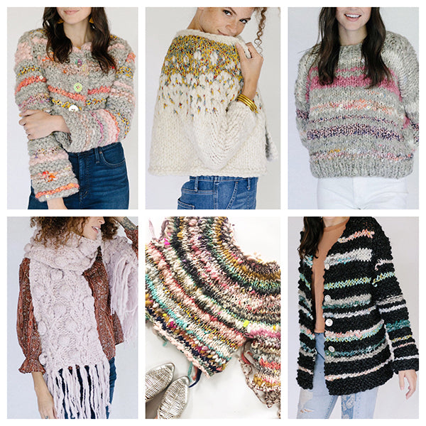 Knit Collage KAL Options
