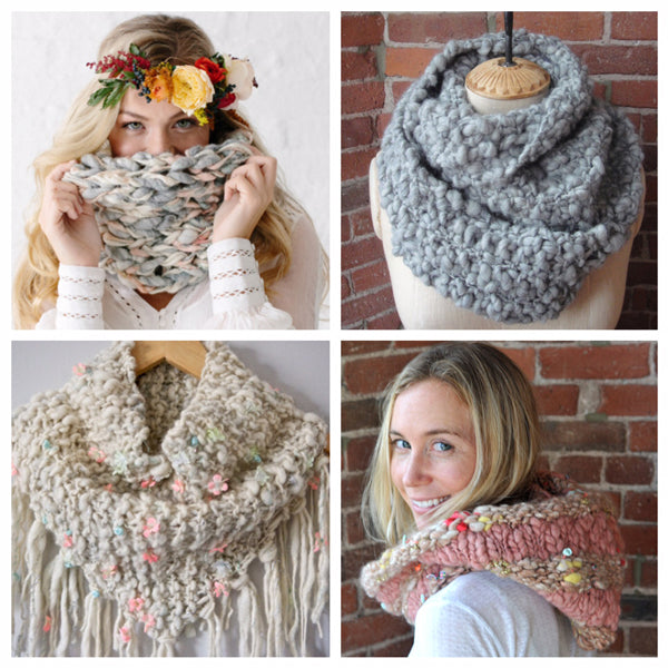 Knit Collage best selling cowl patterns
