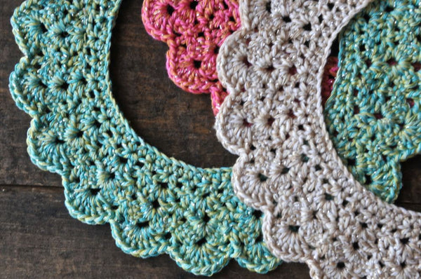 New Crochet Collars By Lulu Loves Knit Collage