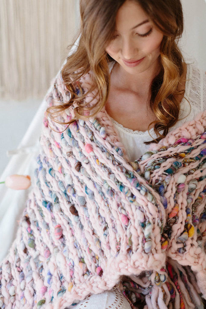 Free Flow Blanket Pattern
