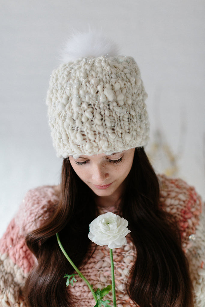 Perfect Slouch Hat Pattern Free Knit Collage