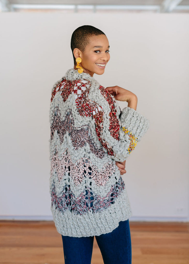 Garden Party Sweater Pattern