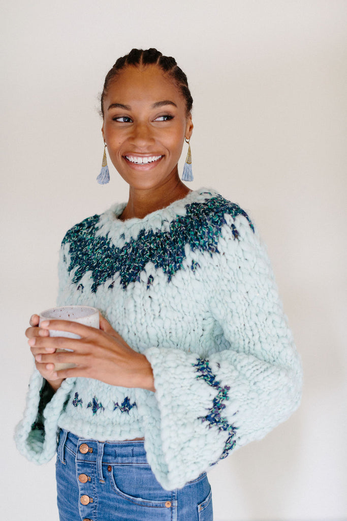 Exhale Sweater Pattern