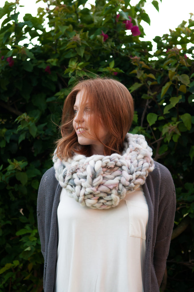 Wanderlust Cowl Patterns Knit Collage