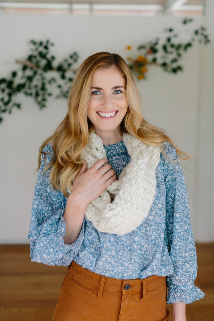 Herringbone Lace Cowl and Scarf Patterns