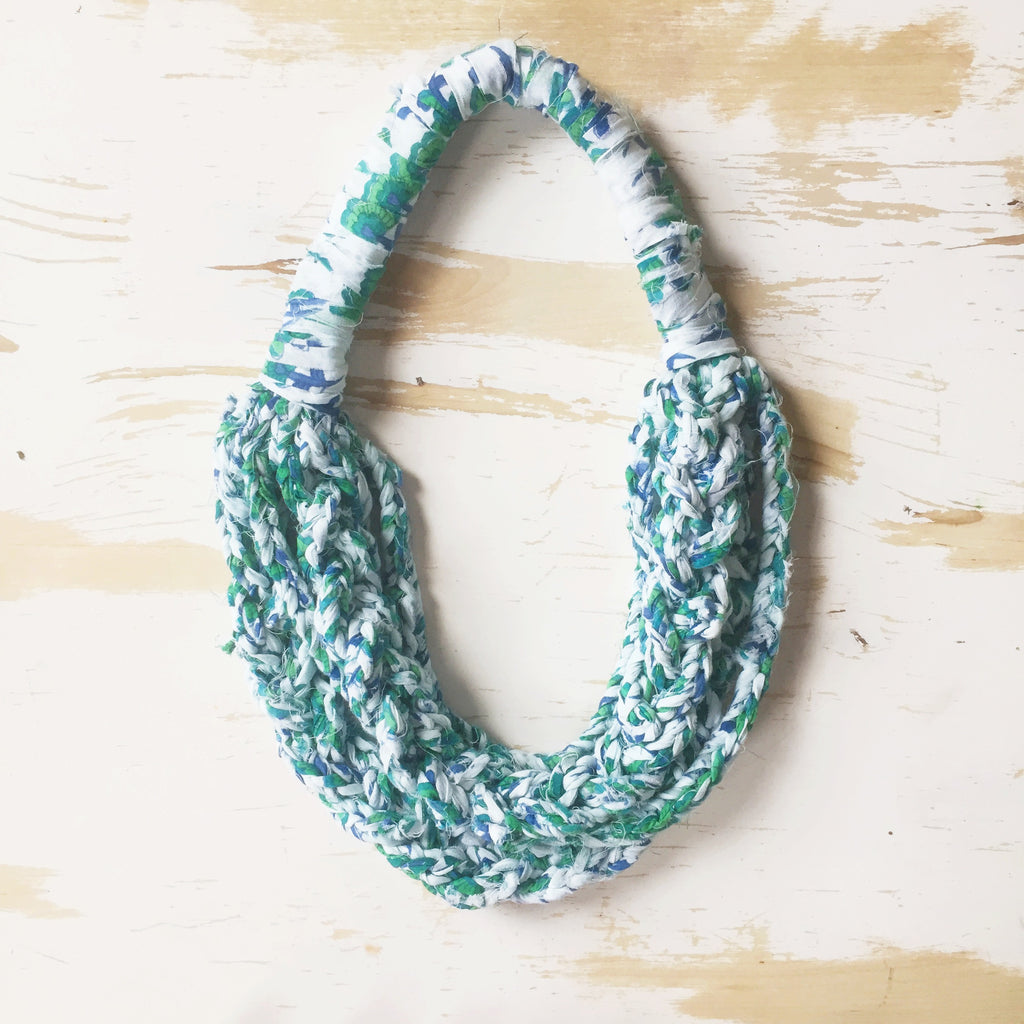 Wanderful Necklace – Knit Collage