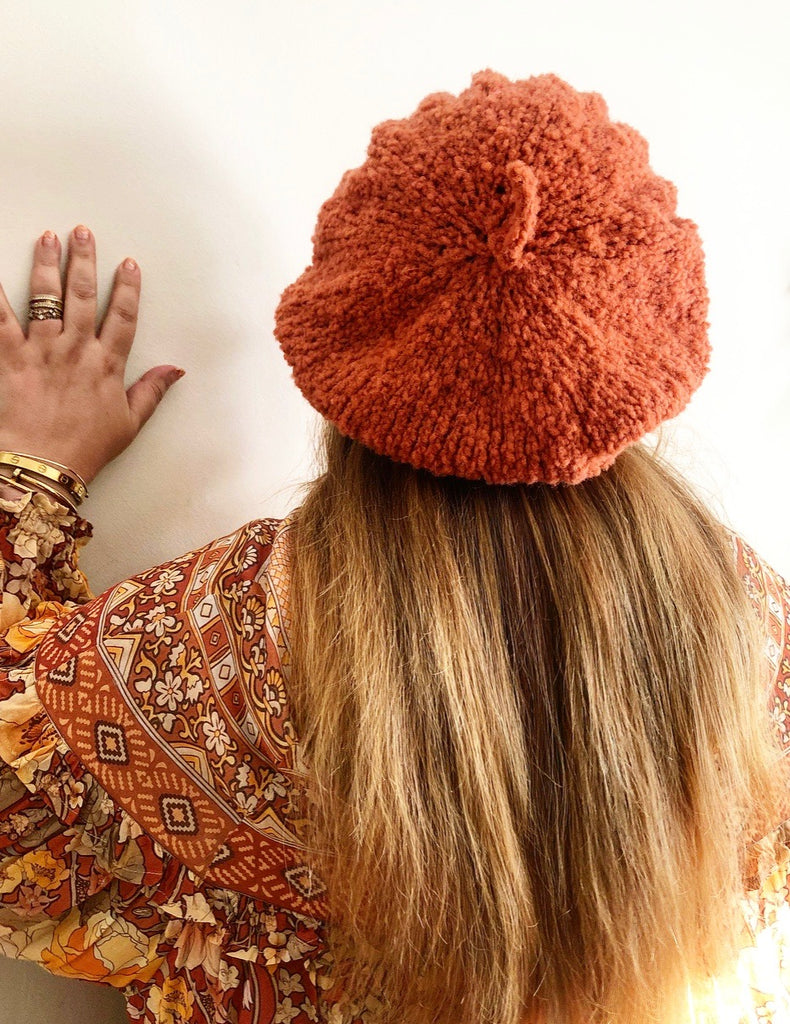 Le Slouch Cable Beret & Scarf Patterns