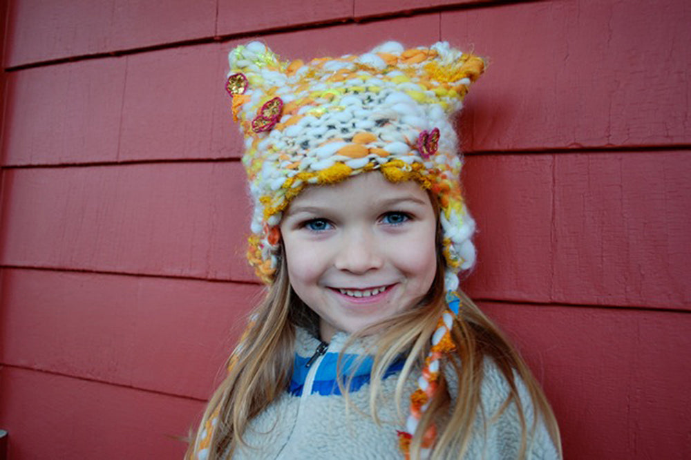 Kitty Kids Hat Pattern