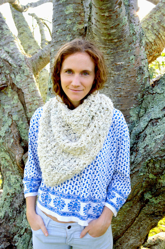 Cast Away Bandana Cowl Pattern