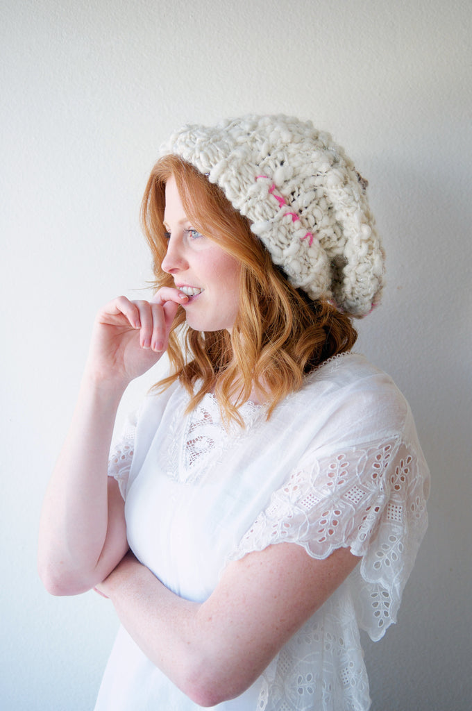 5bb7fe53878 Boho Fable Hat Pattern – Knit Collage