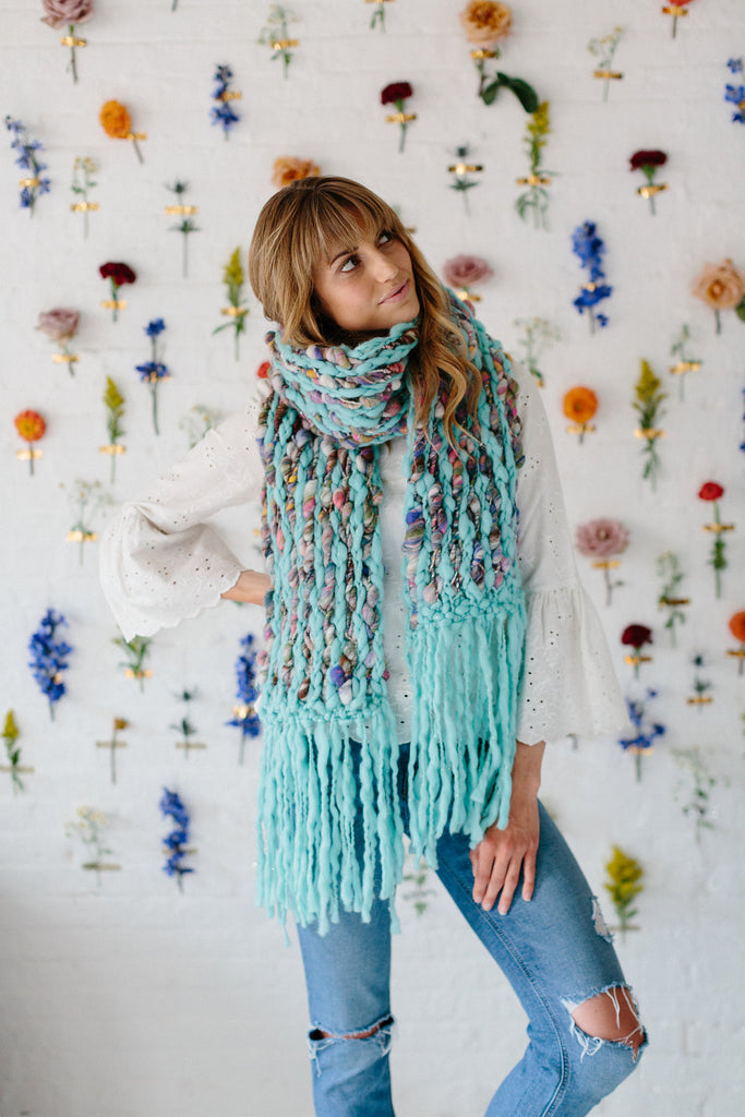 Happy Trails Scarf Pattern
